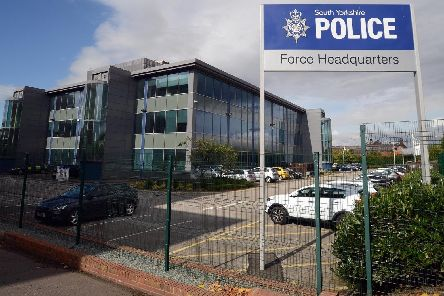 PC Birkett faced a South Yorkshire Police misconduct hearing today.