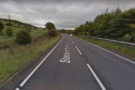 The collision occurred on Stocksbridge Bypass this morning