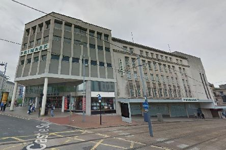 The old Primark building in Sheffield city centre (pic: Google)
