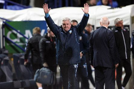 Happy Owls boss Steve Bruce