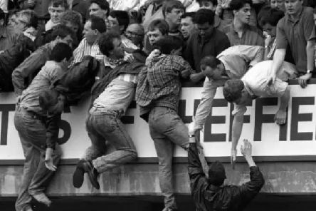 Ninety six fans died at the Hillsborough disaster