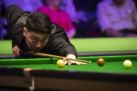 Yan Bingtao is one of the players who uses Victoria's Snooker Academy (pic: Danny Lawson/PA Wire)