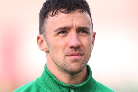 Enda Stevens of Republic of Ireland (Photo by Alex Pantling/Getty Images)