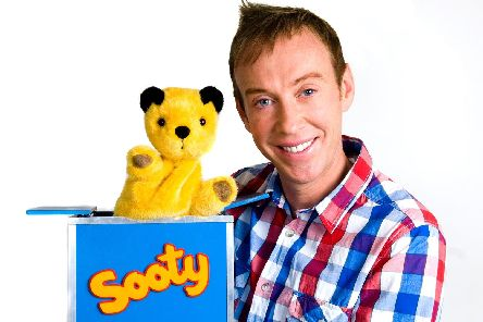 Sooty and partner in crime Richard Cadell
