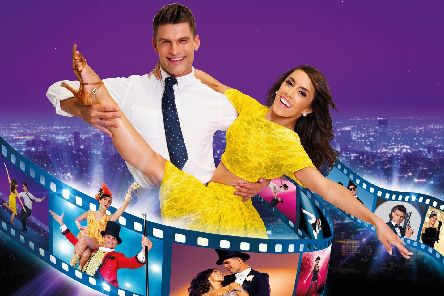 Aljaz and Janette from Strictly in their own show