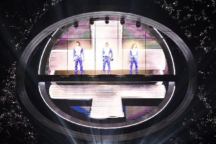 Take That began their latest tour in Sheffield's Fly DSA Arena on Friday night