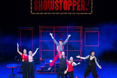 Showstopper, the improvised musical, at Edinburgh last year