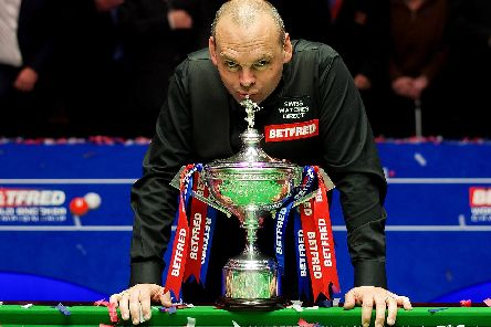 Former World Snooker champ Stuart Bingham has his sights set on lifting the title again after emotional comeback following ban
