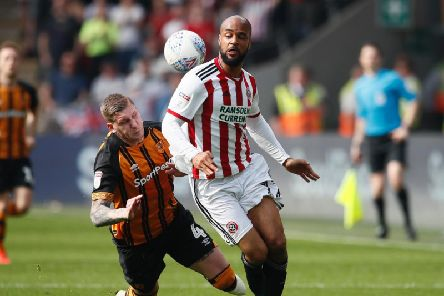 David McGoldrick scored twice at Hull