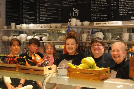 Staff at Lynne's Pantry, Surrey Street. Picture: Sam Cooper / The Star