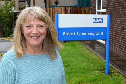 Kath Foster is urging others to take up the offer of breast screening.