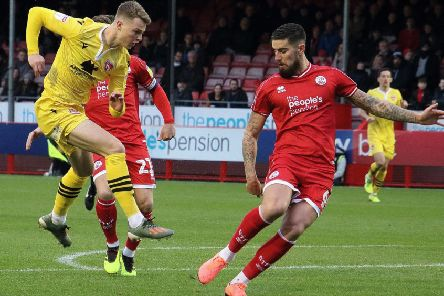 George Tanner impressed during his loan spell with Morecambe