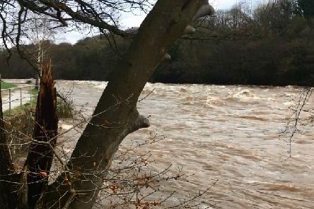 The River Lune at Halton