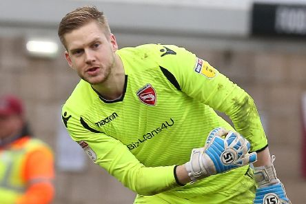 Mark Halstead made some vital saves at Meadow Lane (photo: Getty Images)