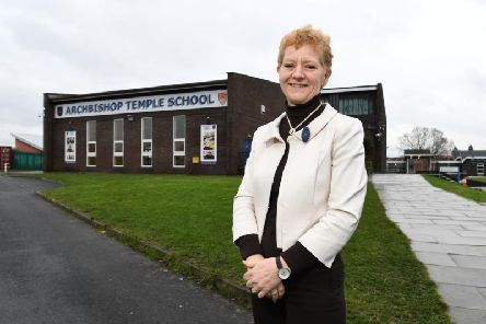 Archbishop Temple CE High School headteacher Gill Jackson is returning to work in Lancaster as principal at Ripley St Thomas CE Academy