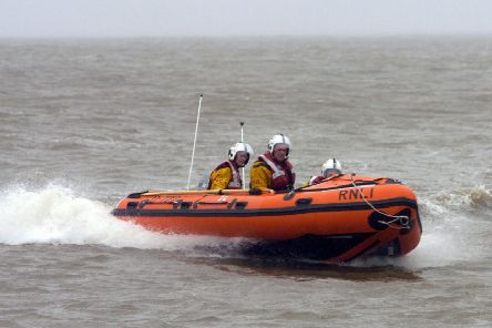 The Morecambe Lifeboat.