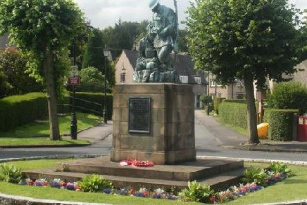 Statue at the heart of Westfield War Memorial Village