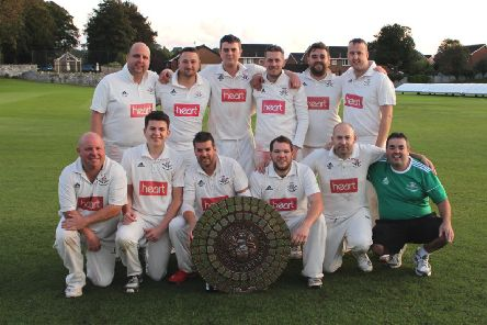 Carnforth are crowned champions.
