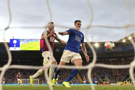 The Clarets have a late goal ruled out against Leicester City at the King Power Stadium following a VAR check