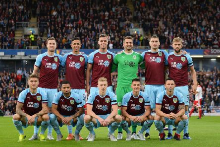 The Clarets ahead of the Europa League play-off against Olympiacos
