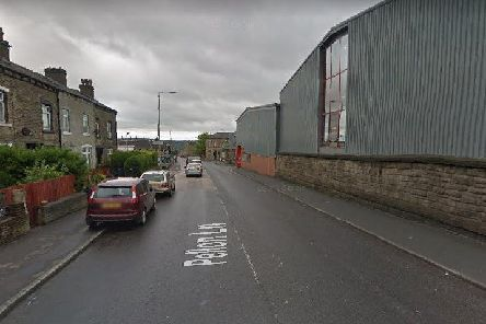 Residents near Pellon Lane in Halifax are being told they might see smoke pouring from a derelict mill today. Picture: Google