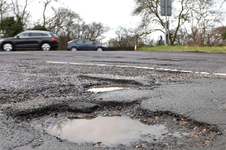Leeds is the third worst place for reports of potholes in Yorkshire with over 8,000 claims made to the council in one year.