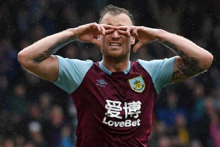Burnley's leading scorer Ashley Barnes