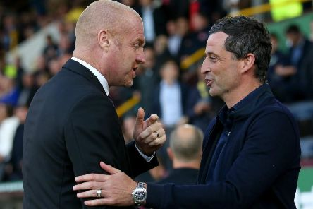 Sean Dyche and Jack Ross