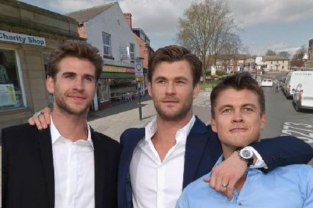 Liam, Luke and Chris Hemsworth are some of Hollywoods most recognisable characters - and yet few would associate their name with our town.