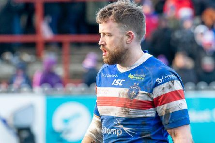 Danny Kirmond has agreed a one-year deal to remain at Wakefield Trinity in 2020. PIC: Allan McKenzie\SWPix.com.