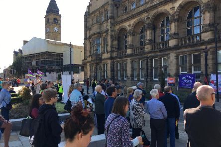 The event was organised by Wakefield Just Transition forum.