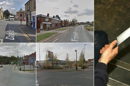 Revealed: Here are the worst areas for possession of weapons in Wakefield???