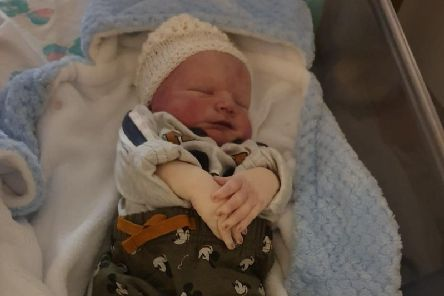 Harrison James-Roy McBride was born on Thursday, December 19 at Pinderfields hospital but sadly never took a breath. Photo provided by the family.