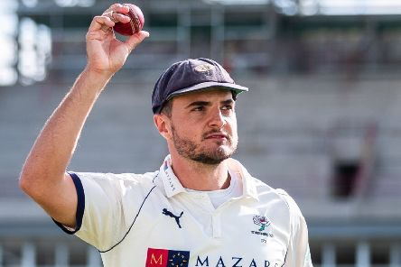 Jack Brooks signed off his stay with Yorkshire in some style (Pictures: SWPix.com)