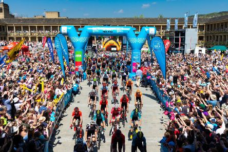 And they're off: This year's Tour de Yorkshire is set to pass through Pontefract on Friday, May 3.
