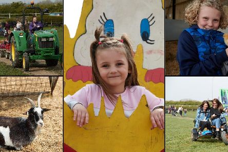 Easter Festival at Farmer Copleys, 2019.
