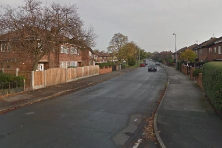The crash happened on Chequerfield Road.