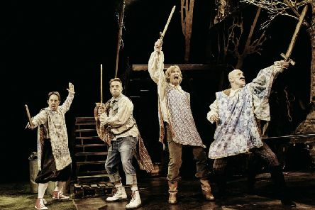 A new production of Alexander Dumas' adventure story comes to the stage