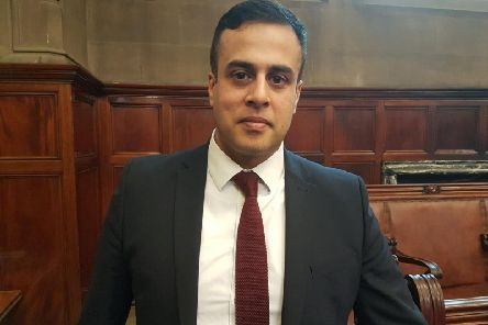 Conservative group leader Nadeem Ahmed reported the incident to the police on April 18.