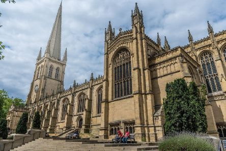 Wakefield Cathedral.
