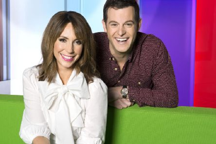 Fans of The One Show got a surprise last night - when the show filmed in Wakefield city centre. Picture: BBC/Ray Burmiston