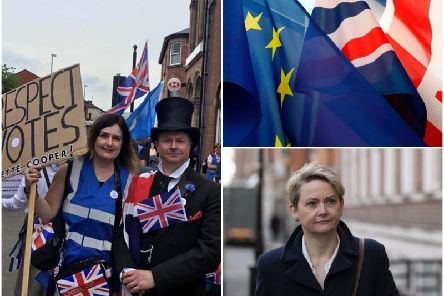 """A demonstrationagainst MP Yvette Cooper was fuelled by """"troublemakers"""" from outside the constituency, a local councillor said."""