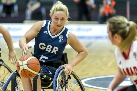 Aiming for glory: Sophie Carrigill.