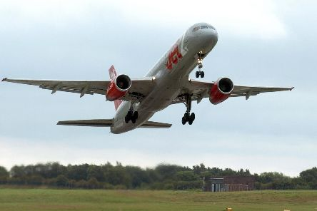 Three planes were held from landing after reports of a drone over the airport.
