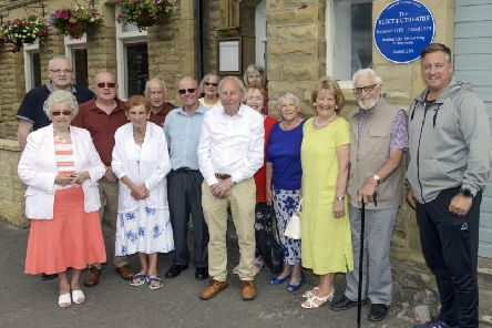 The heritage group outside the Electric Theatre
