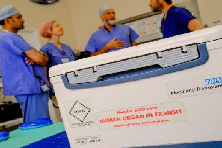 Organ donation has fallen across West Yorkshire in the last 12 months.