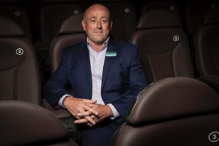 The Ridings Centre Manager Lee Appleton at the new Reel Cinema Wakefield, which will open on August 16.