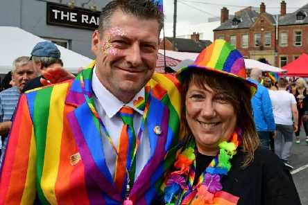 Wakefield waved its rainbow flag proudlyas the city celebrated its biggest and best ever LGBT+ Pride event.