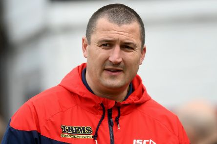 Wakefield Trinity head coach Chris Chester.