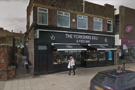 Lee Taylor admitted breaking into the Yorkshire Deli on Wakefields Northgate.